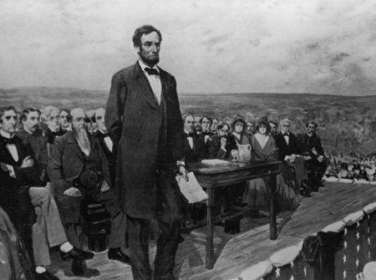 Bài diễn văn huyền thoại của Abraham Lincoln hơn 150 năm trước