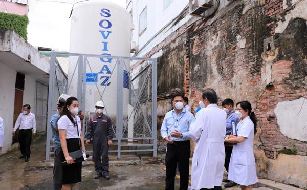 Thêm hệ thống oxy cho gần 400 giường bệnh điều trị Covid-19