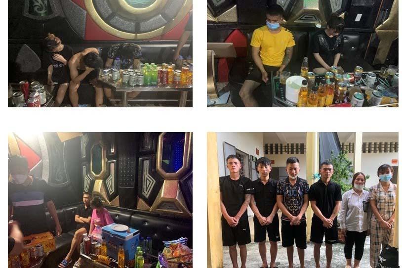 Quán karaoke ở Quảng Ninh mở cửa cho khách tới dùng ma tuý giữa mùa dịch