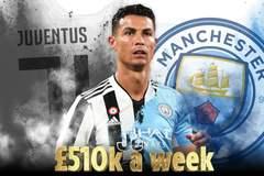 Sốt dẻo Ronaldo đạt thỏa thuận cá nhân với Man City