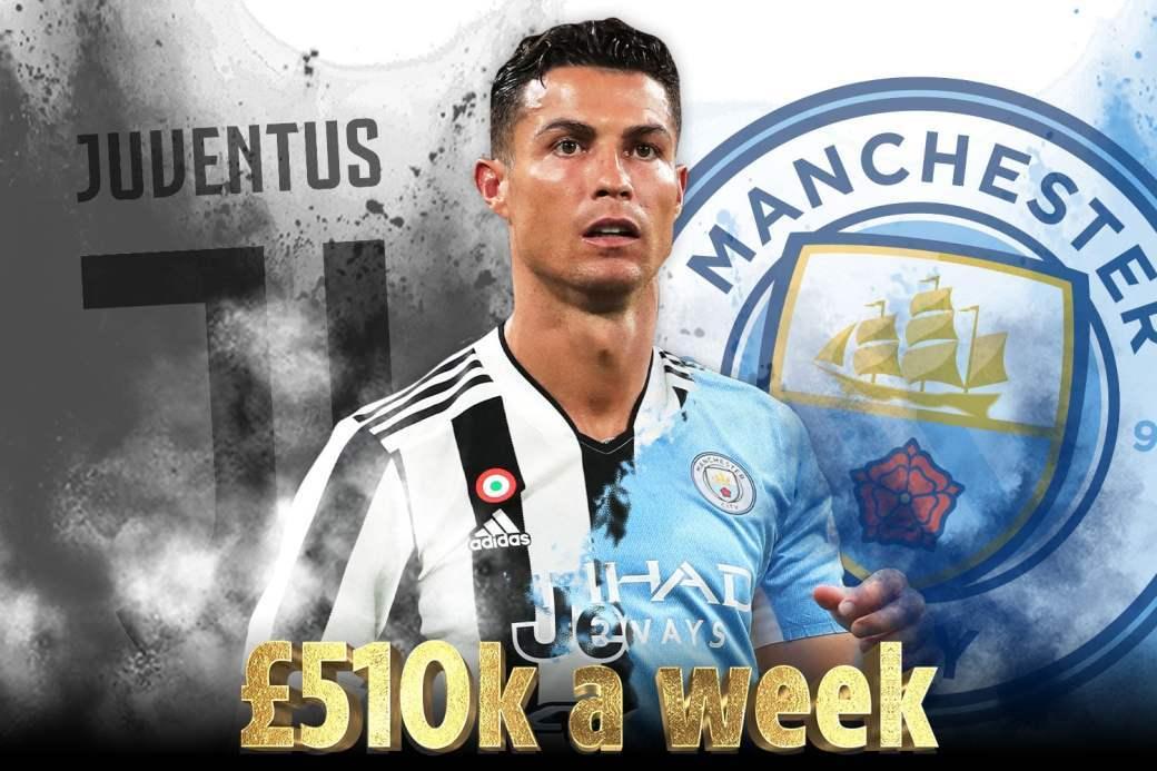 Ronaldo đạt thỏa thuận chuyển nhượng với Man City - VietNamNet