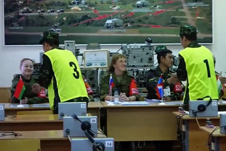 Lính thông tin Việt Nam, Nga, Trung Quốc đọ sức ở Army Games 2021