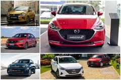 Top 5 mẫu sedan hạng B 'ăn xăng như ngửi': Không có Toyota Vios