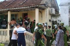Nghẹt thở giải cứu cô gái bị cha bắt làm con tin ở Nam Định