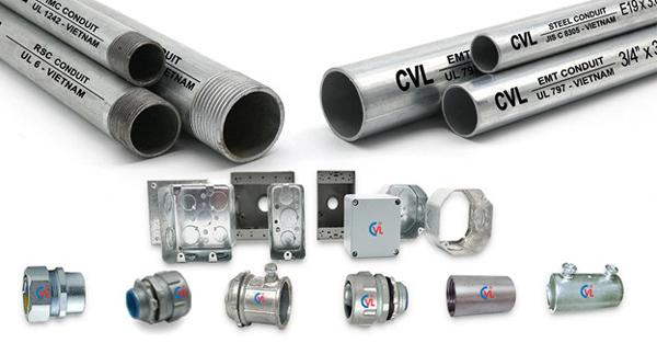 3 yếu tố làm nên thương hiệu ống luồn dây điện EMT UL 797 Cát Vạn Lợi