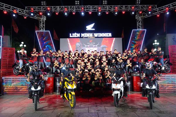 Tham gia Liên minh Winner nhận quà Honda 'cực chất'