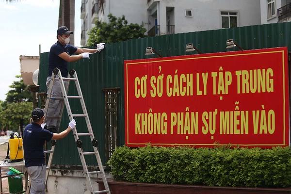 """Gắn """"mắt thần"""" giám sát khu cách ly 1.000 giường bệnh ở Hà Nội"""