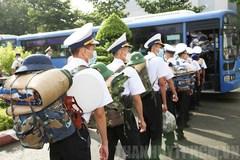 Quân y hải quân chi viện cho TP.HCM và các tỉnh phía Nam chống dịch