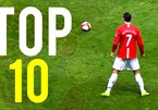Chiêm ngưỡng top 10 siêu phẩm của Ronaldo cho MU