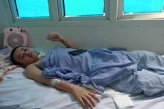 Em Lưu Công Minh Năng bị tai nạn được bạn đọc ủng hộ hơn 70 triệu đồng