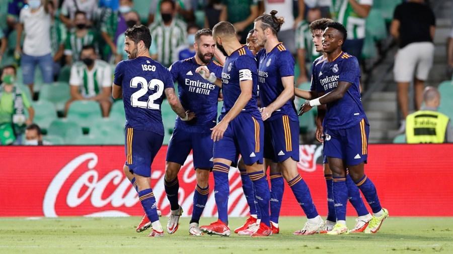 Thắng nhọc Betis, Real Madrid leo lên ngôi đầu