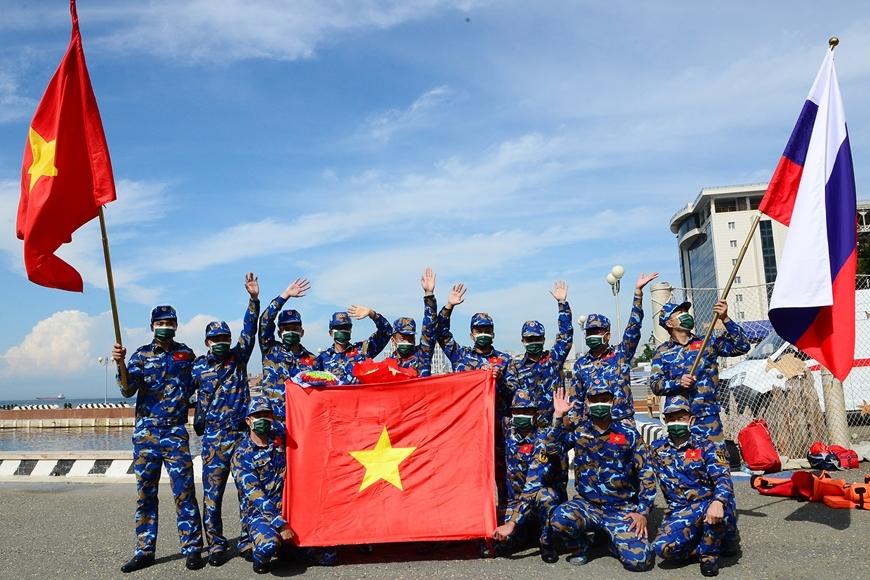 Hải quân Việt Nam đứng thứ nhì môn thi 'Cúp biển' Army Games 2021