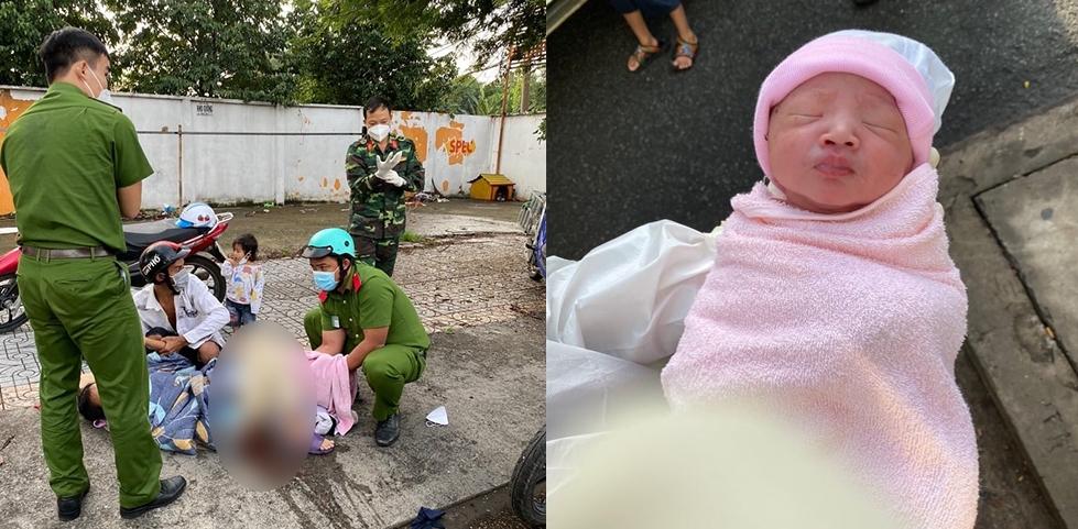 Công an làm bà đỡ cho thai phụ sinh con ngay trên hè phố