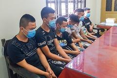 Băng nhóm ở Thái Bình dùng hung khí cướp tài sản liên tỉnh