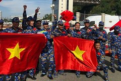 Vietnam People's Navy team rank second at Army Games 2021
