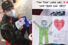 Bức thư đáng yêu bé gái gửi chú bộ đội cổ vũ tinh thần chống dịch