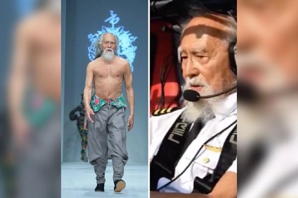 Cụ ông nổi tiếng Trung Quốc nhận bằng phi công ở tuổi 85