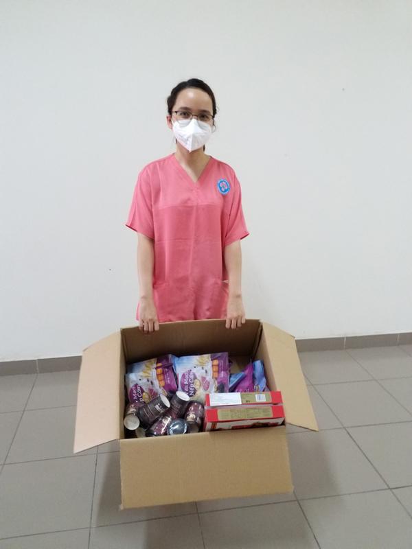 Blissberry tiếp sức các nữ y bác sĩ tuyến đầu chống dịch