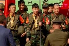 Đội công binh Việt Nam giành huy chương đồng ở Army Games