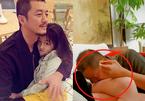 Lý Á Bằng gây tranh cãi vì hôn lên đùi con gái