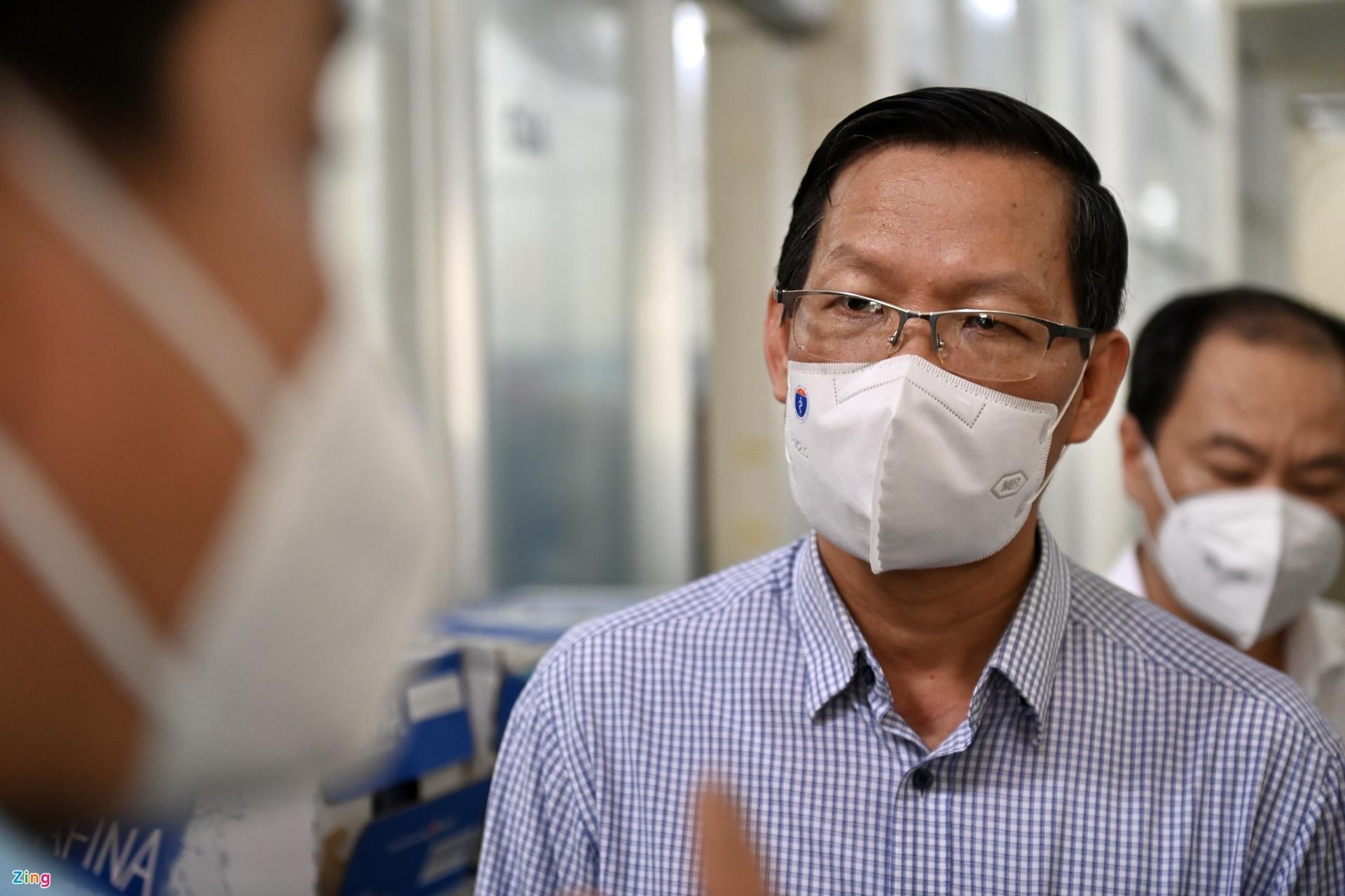 Chuyến thị sát của ông Phan Văn Mãi sau khi được phê chuẩn