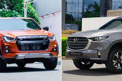 Giá từ 630 triệu, nên chọn bán tải Mazda BT-50 hay Isuzu D-Max?