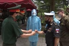 Hình ảnh các đội tuyển quân sự tới Việt Nam thi đấu Army Games 2021