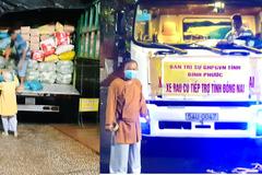 Phật giáo Đà Lạt, Bình Phước gửi 54 tấn nông sản đến các vùng tâm dịch phía Nam