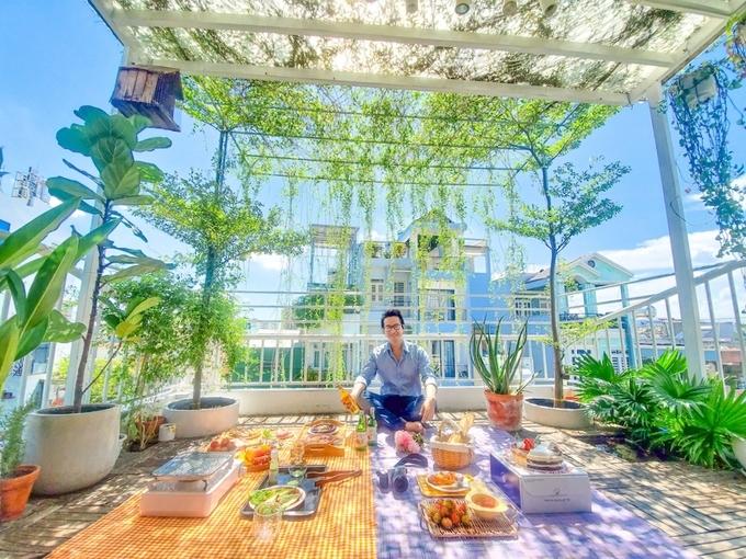 Nữ travel blogger Sài Gòn 'bật mí' điểm du lịch, picnic ngay giữa mùa dịch