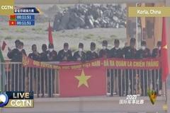 Đội hóa học Việt Nam đọ sức với Belarus ở Army Games