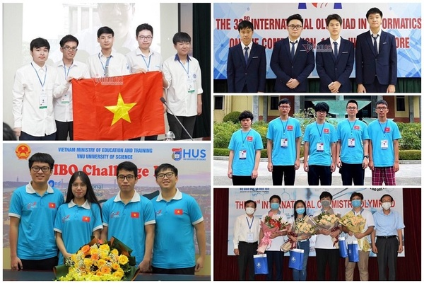 19 huy chương Olympic quốc tế 2021 chọn đại học nào?