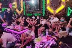 30 nam nữ mở 'tiệc' ma túy trong quán karaoke ở Phú Thọ