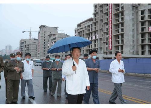 Bên trong đại công trường ven sông ở Triều Tiên thành hình sau 140 ngày