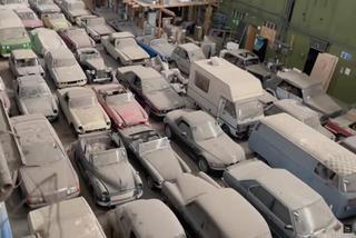 175 chiếc ô tô cổ hàng hiếm phủ kín bụi