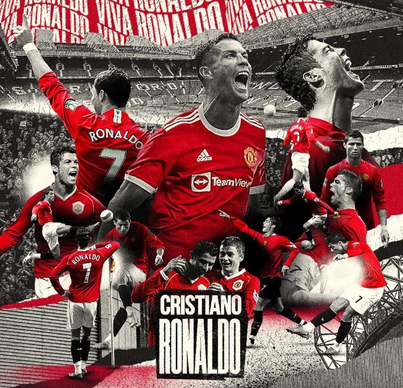 MU rạo rực đón Cristiano Ronaldo 'trở về nhà'