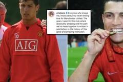 Ronaldo thốt 'lời vàng' gây bão ngày trở lại MU