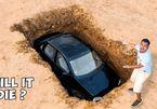 Nam thanh niên chơi trội, chôn cả ô tô xuống đất trong 6 tháng
