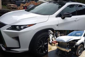 Lexus RX 450h hỏng nặng do tai nạn, phục hồi như mới