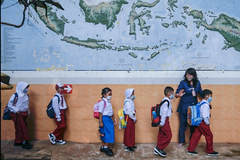 Cách Indonesia tái mở cửa trường học an toàn giữa đại dịch