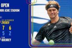 US Open 2021: Zverev ra quân thuận lợi