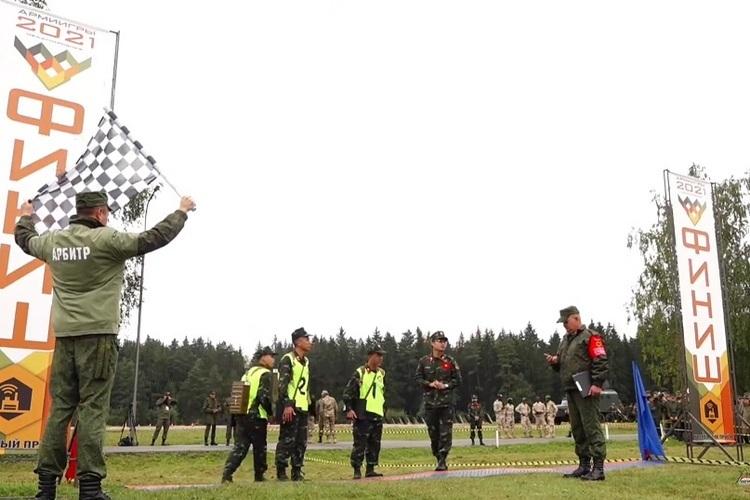 Xem lính thông tin Việt Nam, Lào, Belarus trổ tài ở Army Games