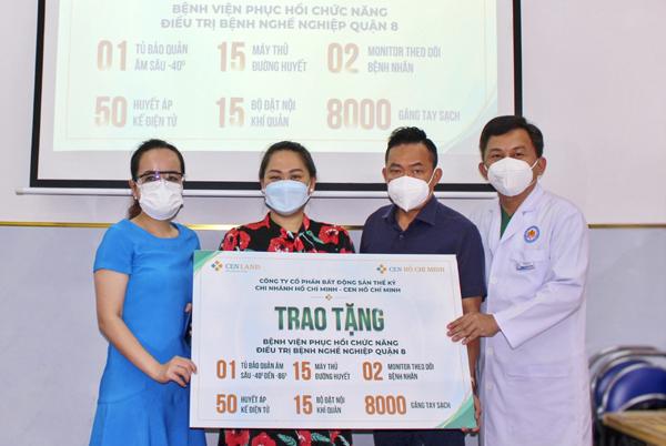 Cen TP.HCM chi viện hơn 1,5 tỷ đồng thiết bị y tế chống dịch Covid-19