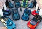 Đại gia mê siêu xe Pagani, sắm tới 7 chiếc đỗ kín garara