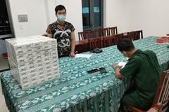 Nam thanh niên chở 1.000 bao thuốc lá lậu đi tiêu thụ giữa mùa dịch