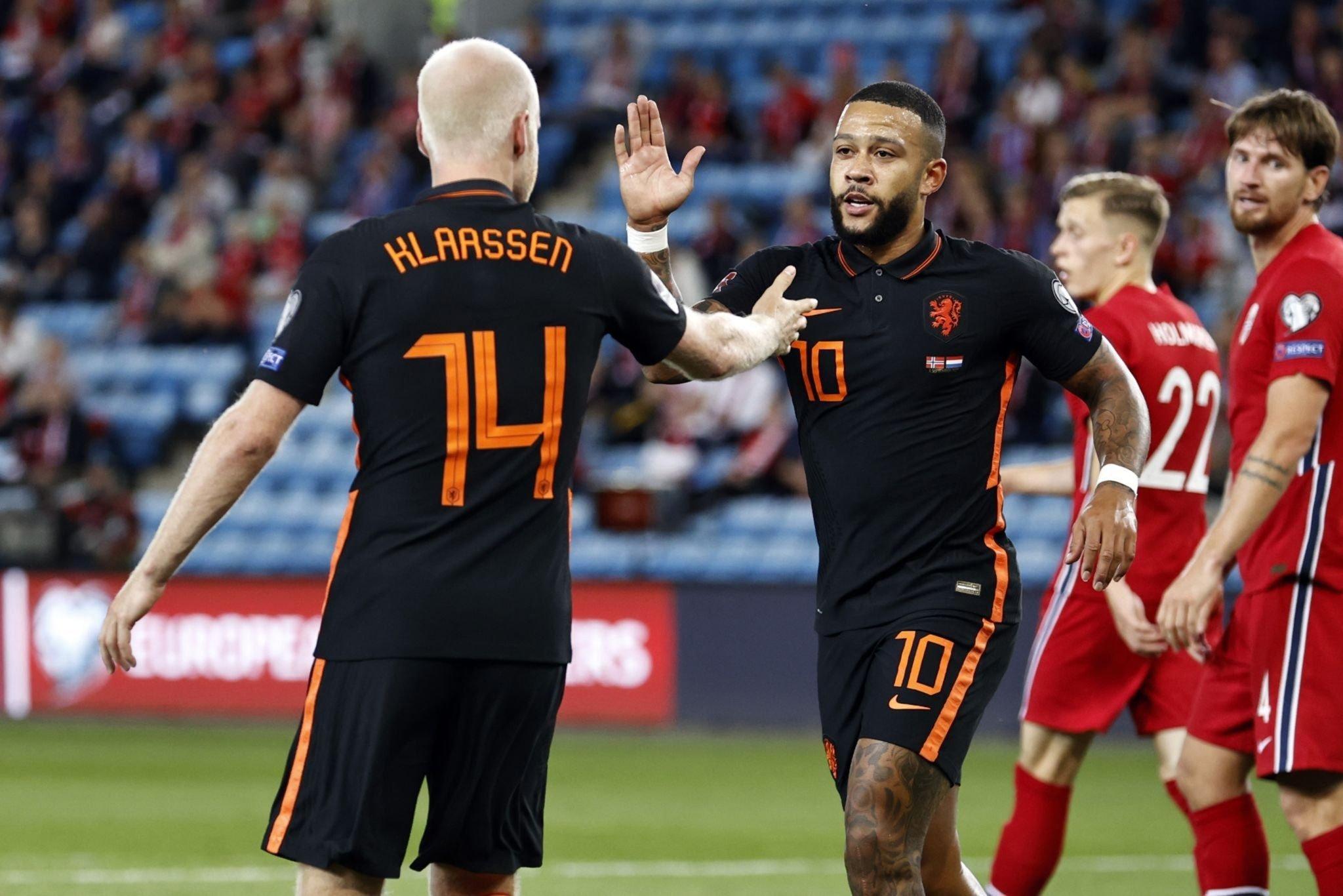 Halaand nổ súng, Na Uy chia điểm với Hà Lan