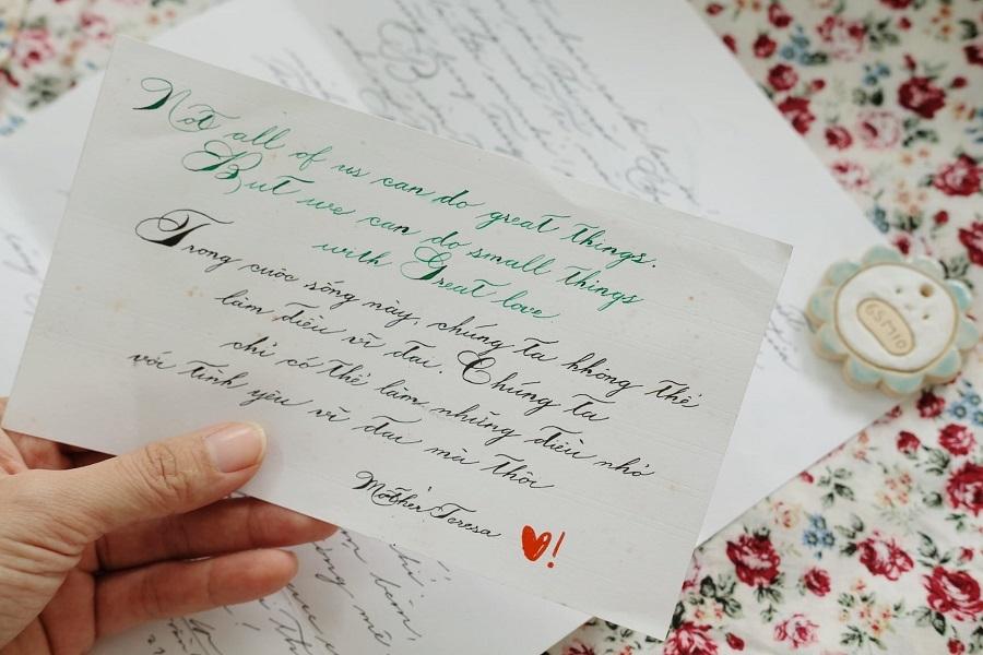 Chuyện tình ngọt ngào của cặp 9X yêu nhau qua hàng trăm lá thư tay