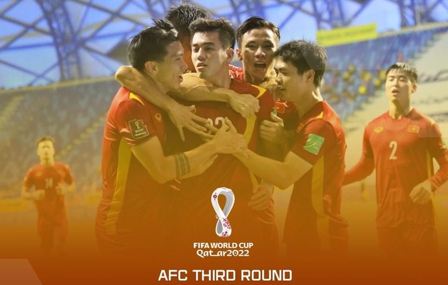 Lịch thi đấu của ĐT Việt Nam ở vòng loại thứ 3 World Cup: Chờ đấu Trung Quốc