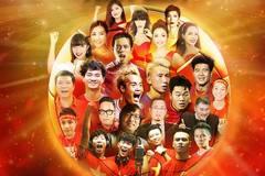 Xuân Bắc cùng nhiều cầu thủ nổi tiếng tham gia MV 'Việt Nam tiến lên'