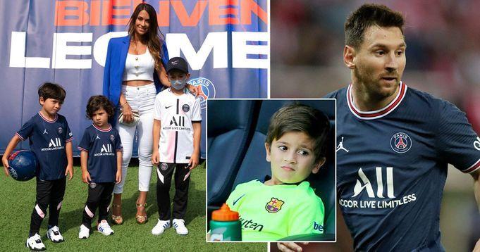 Các con của Messi rời học viện Barca gia nhập PSG