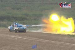 Tank Biathlon 2021: Xe tăng Lào bất ngờ lọt vào chung kết bảng 2